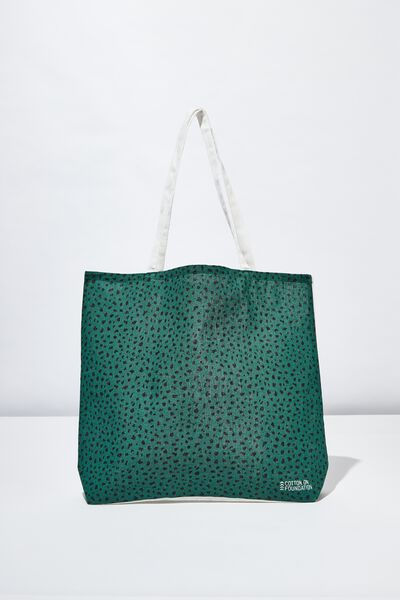 Body Tote Bag, SPECKLE ANIMAL