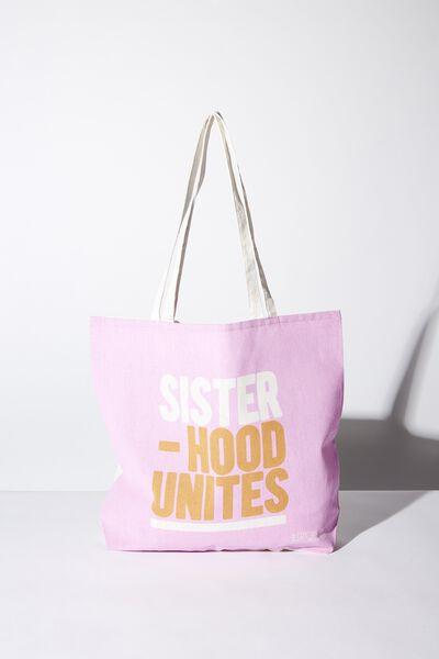 Body Tote Bag, SISTERHOOD