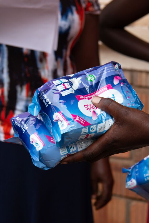 Girl Up Donation, SANITARY PADS