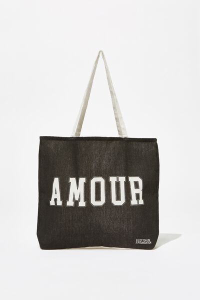 Body Tote Bag, AMOUR