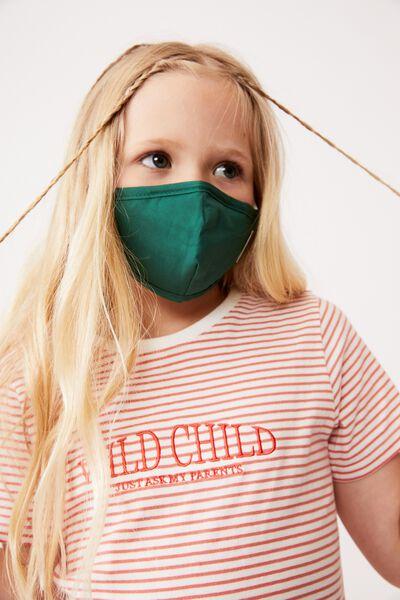Foundation Face Mask Kids, HERITAGE GREEN