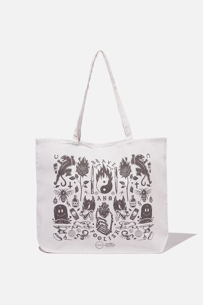 Factorie  Foundation Tote Bags, MASH UP