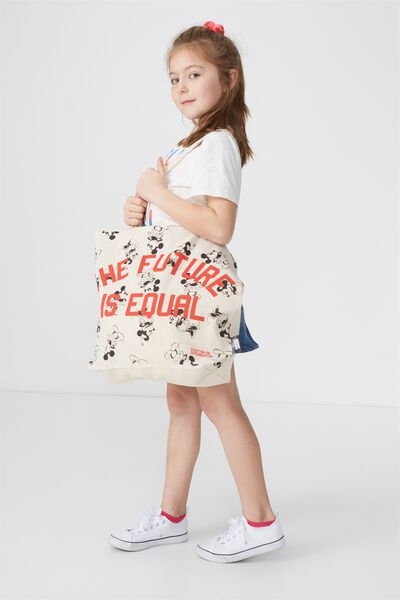 Foundation Kids Tote Bag, MICKEY FUTURE IS EQUAL