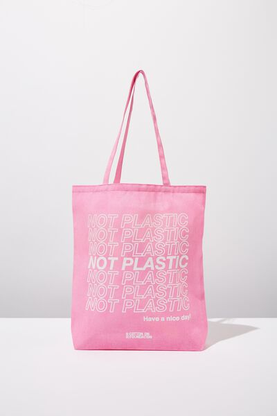 Foundation Online Exclusive Totes, NOT PLASTIC