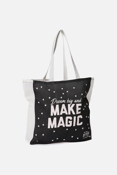Typo Difference Tote Bag, DREAM BIG