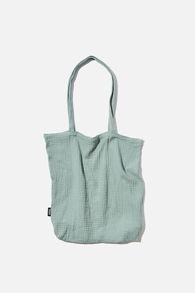 Foundation Fashion Tote, BLUE SURF