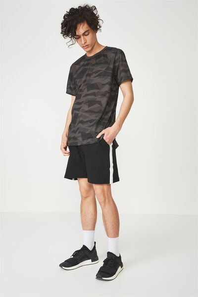 Coar Active Tee, CHARCOAL JAGGED CAMO
