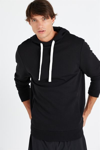 Coar Performance Double Knit Pullover, BLACK