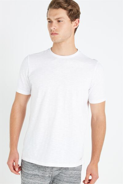 Coar Urban Tech Tee, WHITE