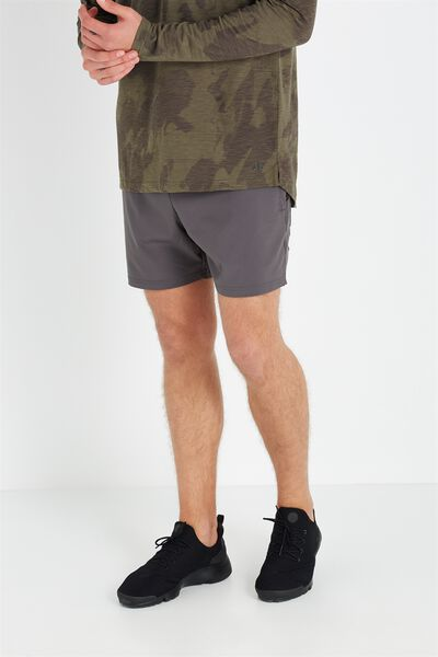 Coar Tech Training Short, CHARCOAL