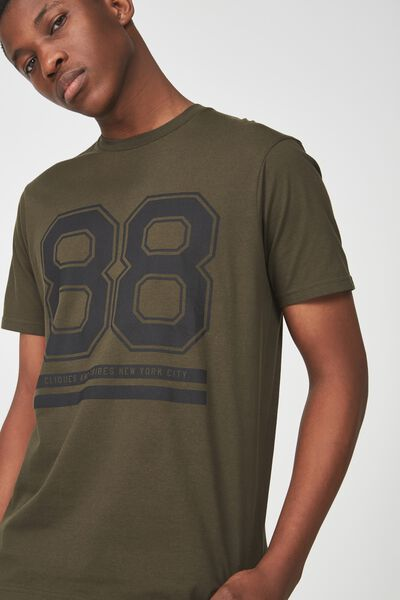 Active Graphic Tee, THYME GREEN CLIQUES AND TRIBES 88