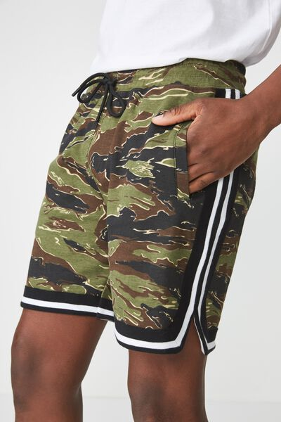 Active Knit Short, CAMO/JACQUARD
