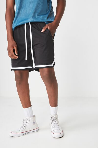 Active Knit Short, BLACK / MESH