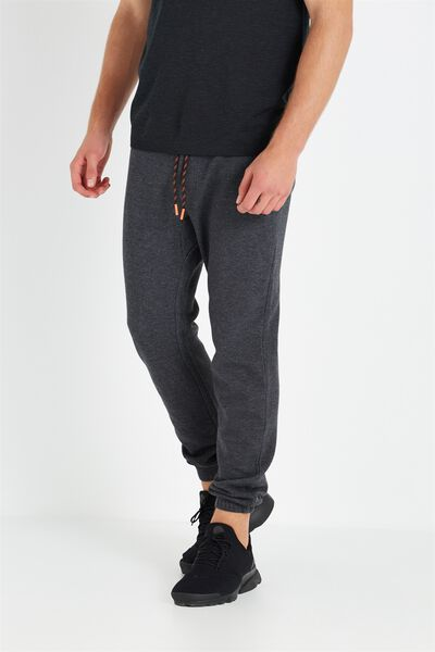 Coar Tech Track Pant, BLACK HEATHER