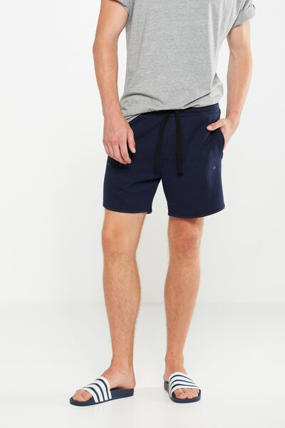 Coar Performance Double Knit Short, SPACE NAVY