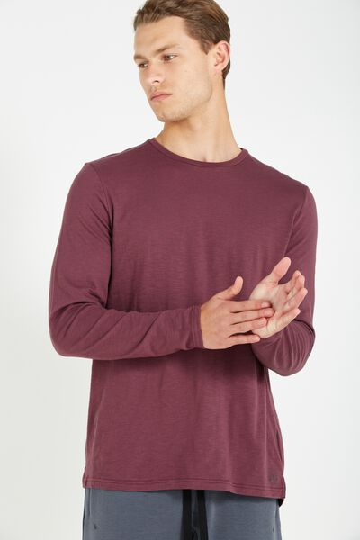 Coar Urban Tech Ls Tee, FIG
