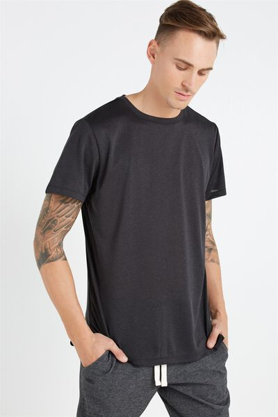 Coar Performance Tee, BLACK HEATHER