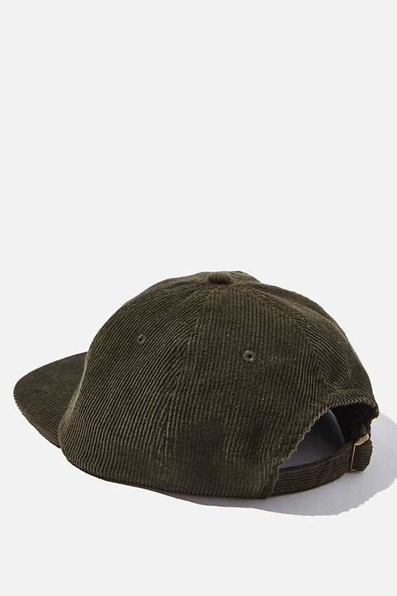 6 Panel Hat, KHAKI CORDUROY/SAND/NO PROBLEM