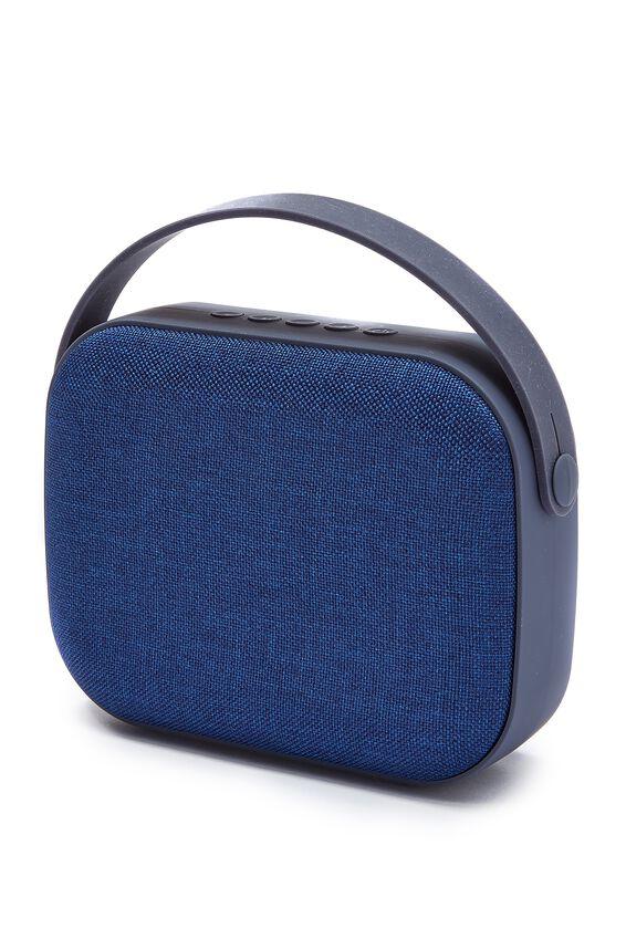 Fabric Wireless Speaker, INDIGO