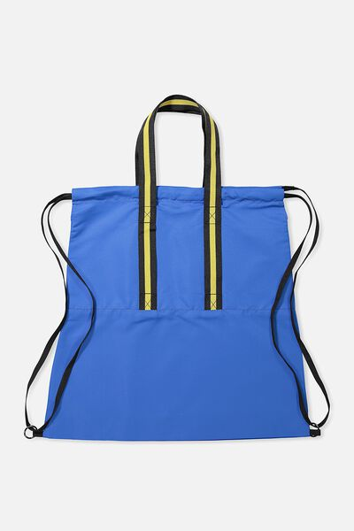 Daily Drawstring Backpack, COBALT