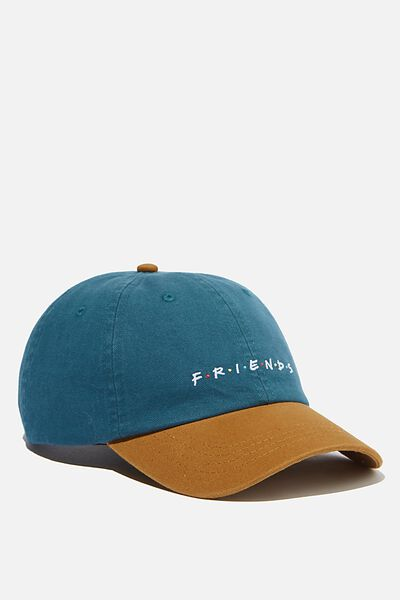 Special Edition Dad Hat, LCN WB DEEP TEAL/BROWN/FRIENDS