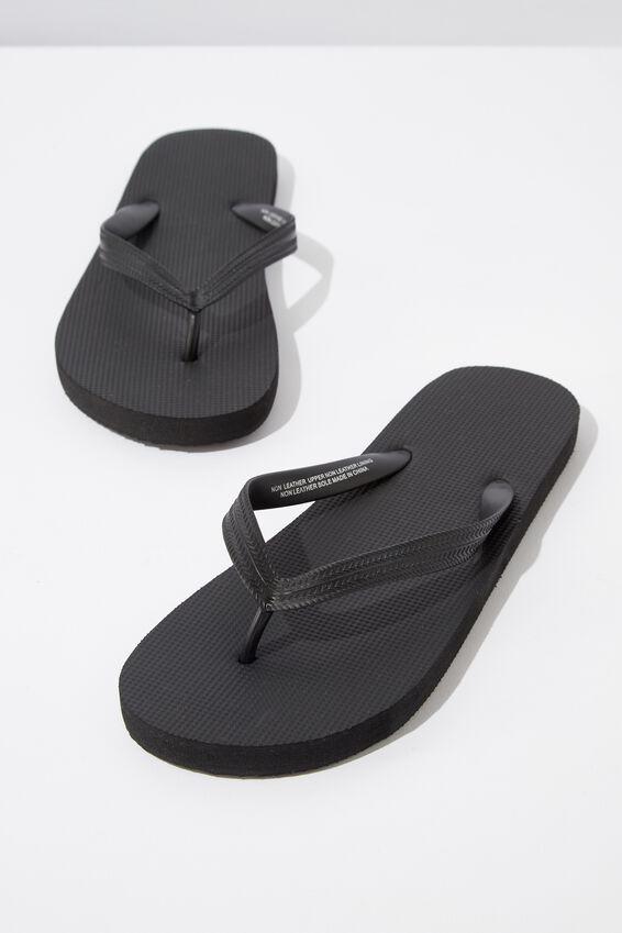 Bondi Flip Flop, BLACK/BLACK