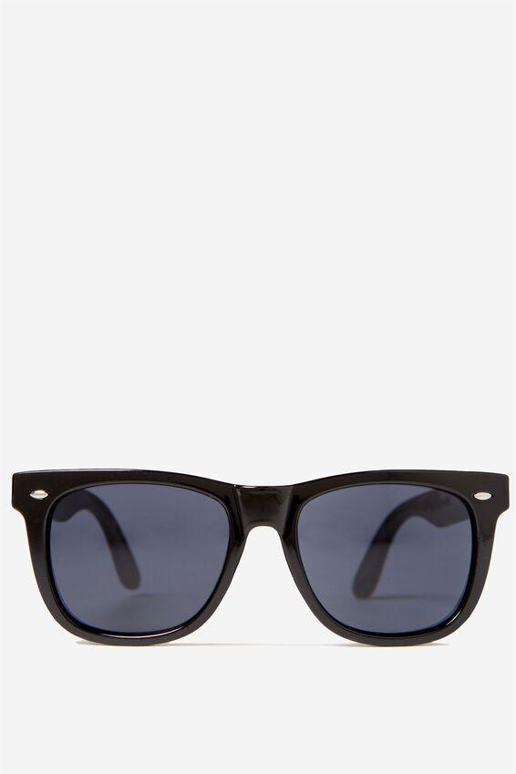Bueller Sunglasses, BLACK