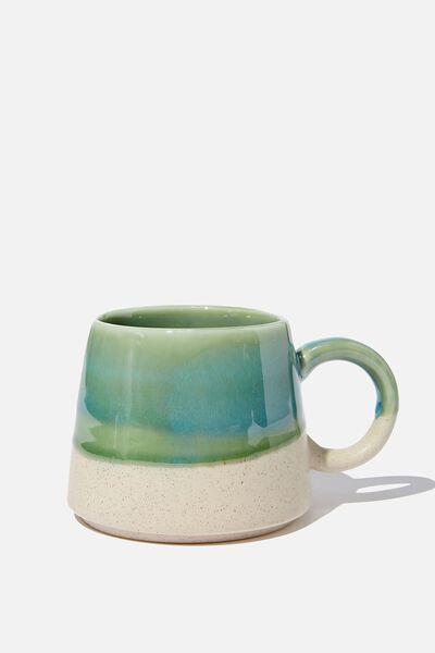 Serene Mug, GREEN REACTIVE