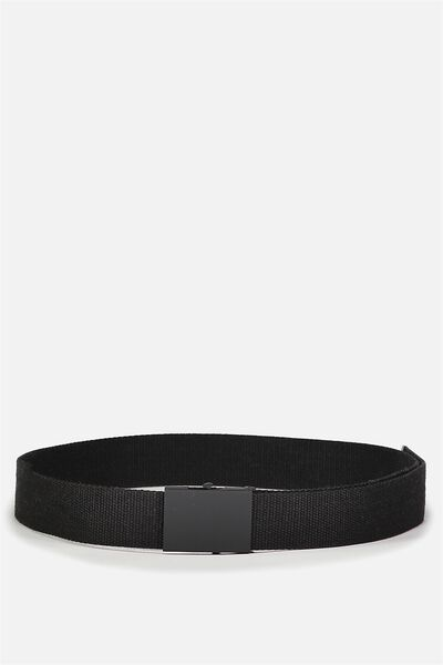 Portland Web Belt, BLACK