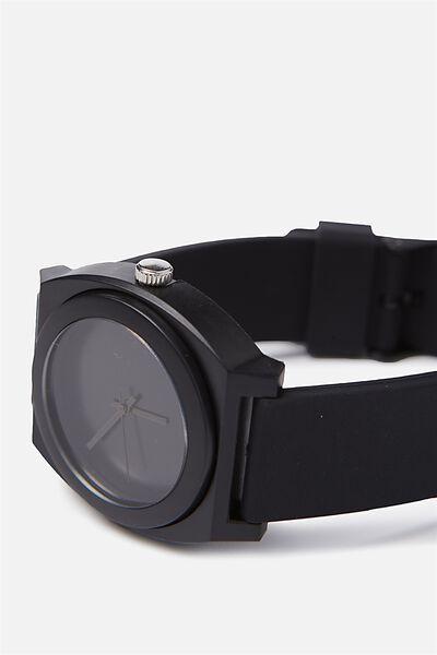 Key West Watch, BLACK