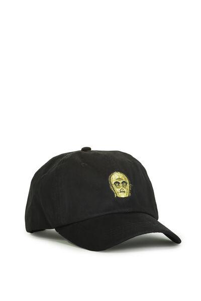 Special Edition Dad Hat, C3PO/BLACK