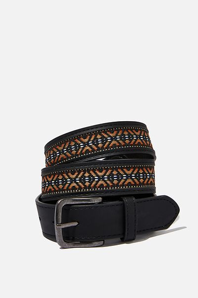 Festival Belt, BLACK/AZTEC TAPE