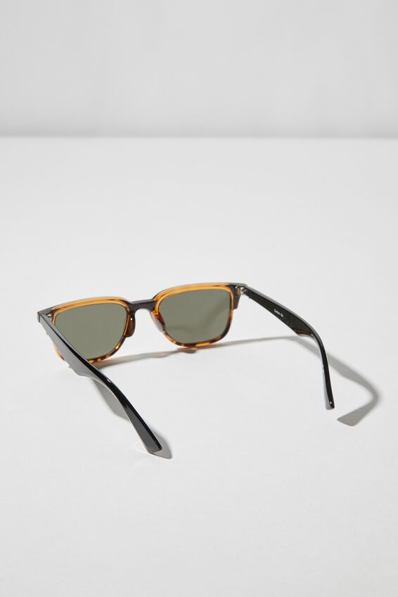 Harrison Sunglasses, BLACK/TORT