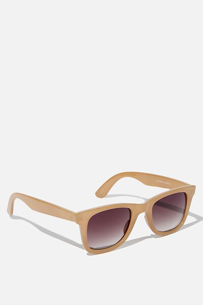 Kennedy Sunglasses, SAND/BROWN GRADIENT