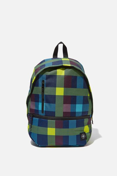 Transit Backpack, BRIGHT CHECK