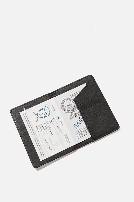 Rfid Passport Holder, SILVER METALLIC