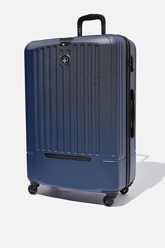 Lrg 28Inch Hard Suitcase, NAVY