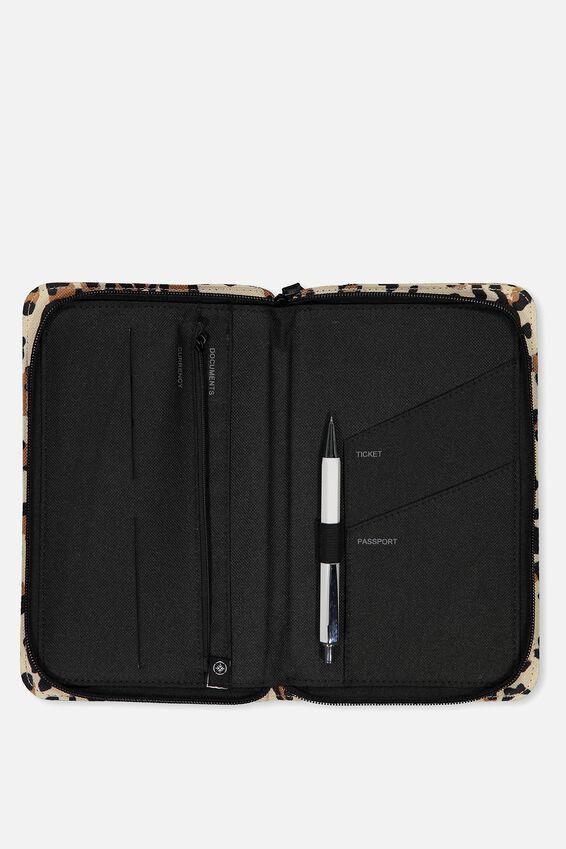 Travel Wallet, LEOPARD