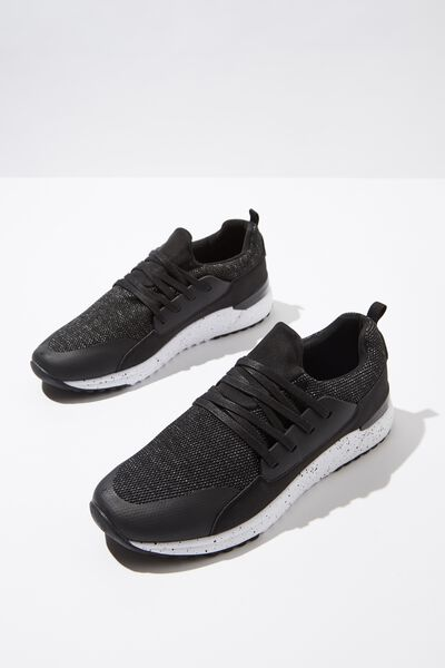 Miro Mesh Trainer, BLACK/SPECKLE