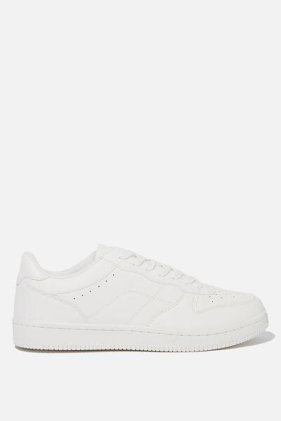 Hayward Clean Sneaker, WHITE/WHITE