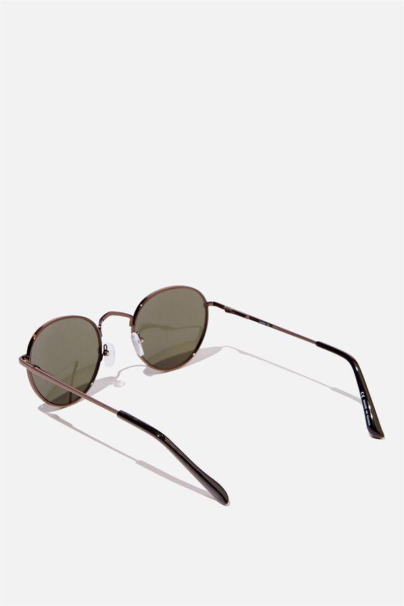 Bellbrae Sunglasses, COPPER/SHINY BLACK/GREEN