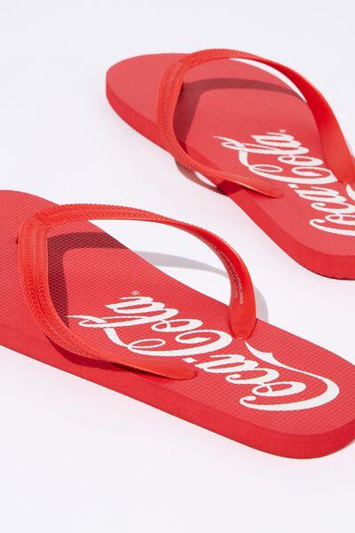Bondi Flip Flop, LC RED/COCA COLA