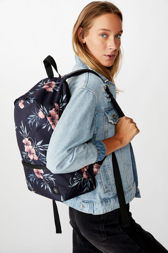 Transit Backpack, HIBISCUS FLORAL