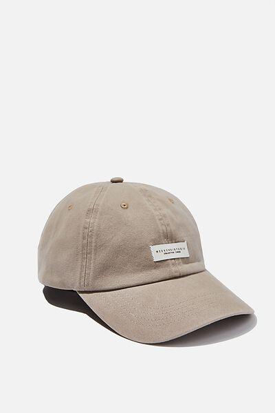 Strap Back Dad Hat, TAUPE/WEEKEND STUDIO