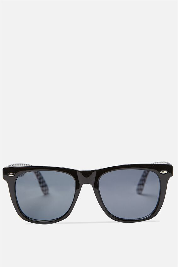 Bueller Sunnies, BLACK CHECK/SMK BLK