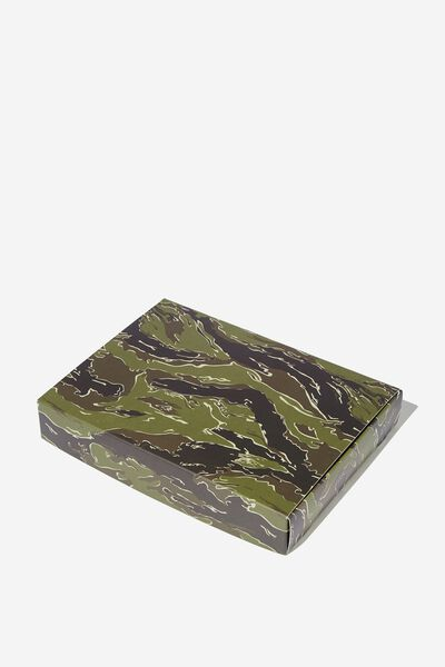 Small Gift Box, TIGER CAMO