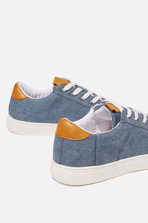 Dickson Classic Sneaker, WASHED NAVY/WHITE