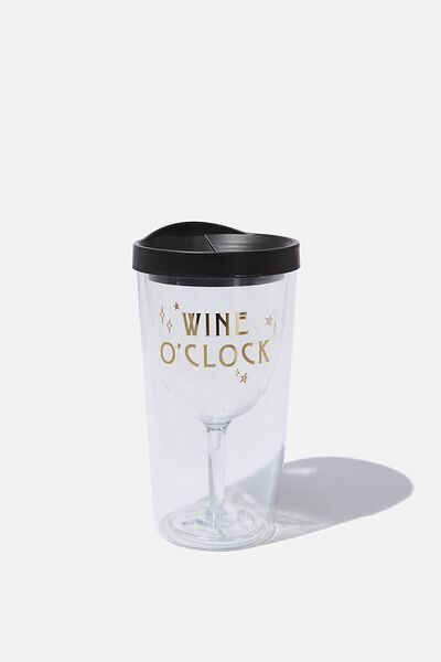 Sippy Wine Cup, WINE O'CLOCK