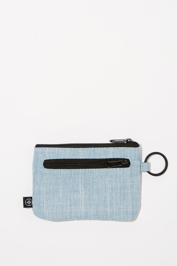 Coin Purse, CHAMBRAY