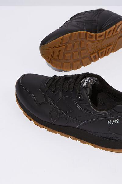 Diadora Casual Sneaker, BLACK